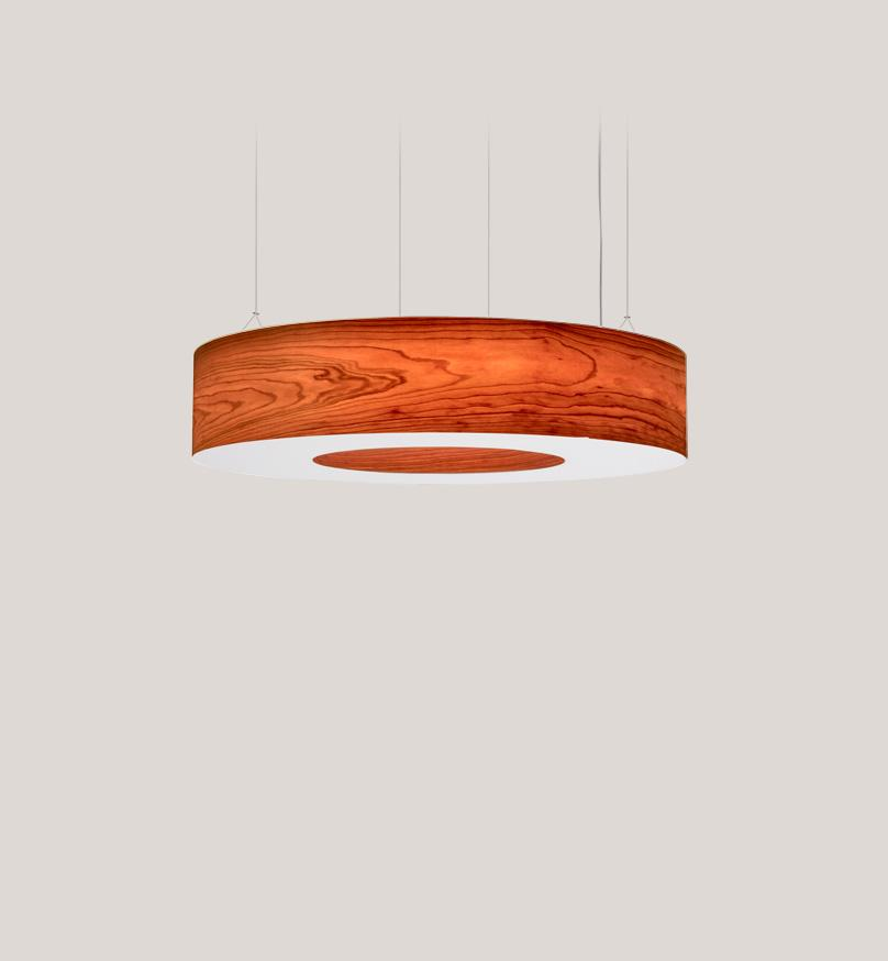 Saturnia L Pendant Led Dimmable / Cherry