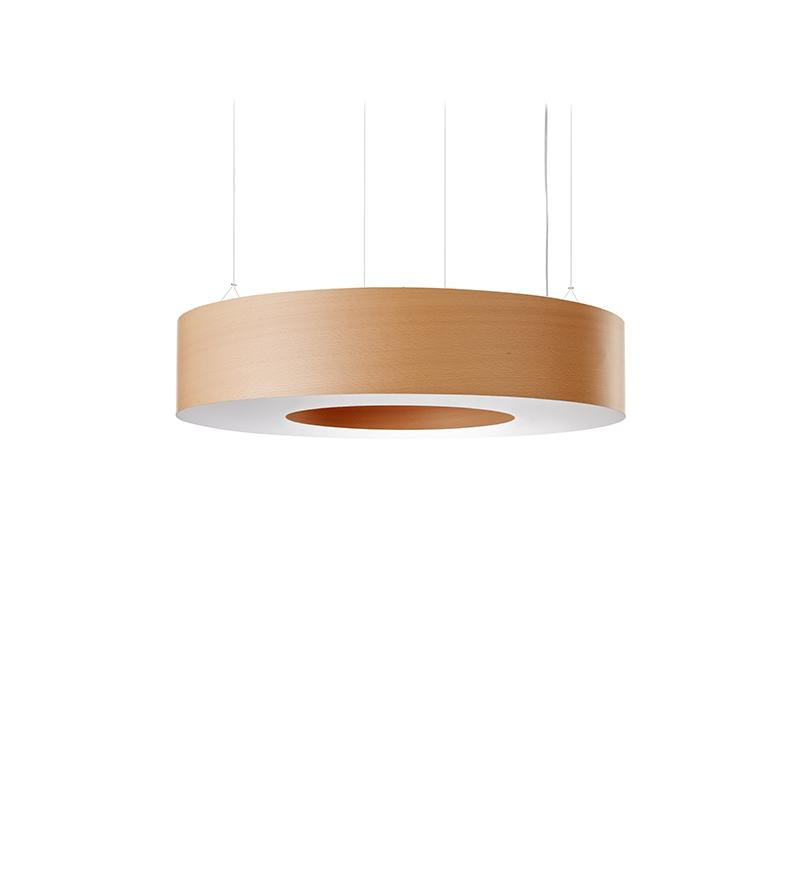 Saturnia L Pendant Led Dimmable / Beech