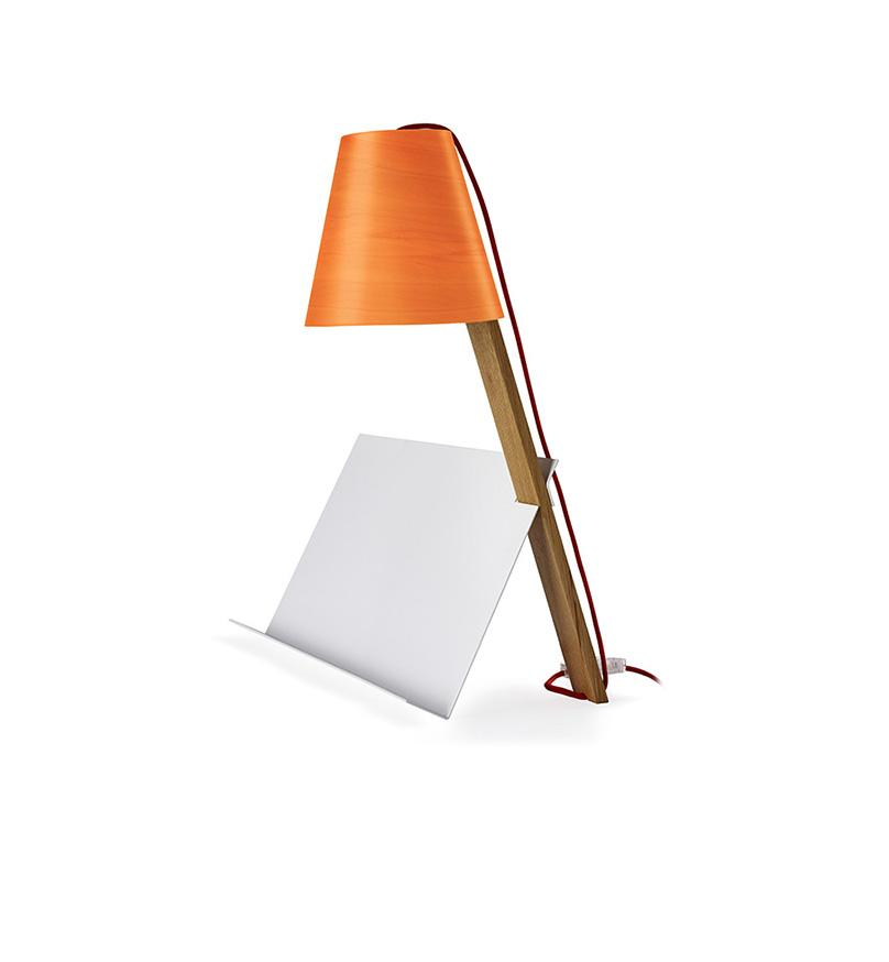 Asterisco Lamp 25 - Orange Table