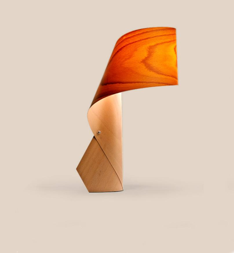 Air Table Lamp Beech