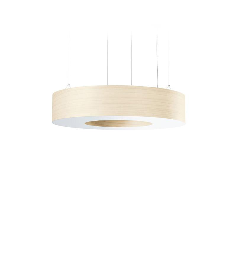 Saturnia L Pendant Led Dimmable / Ivory White