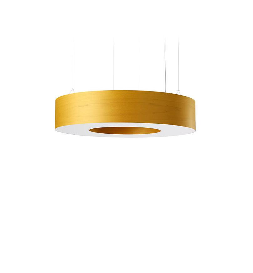 Saturnia L Pendant Led Dimmable / Yellow