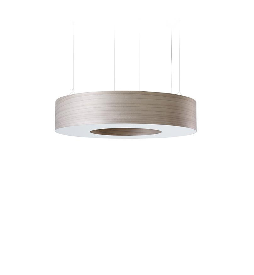 Saturnia L Pendant Led Dimmable / Grey
