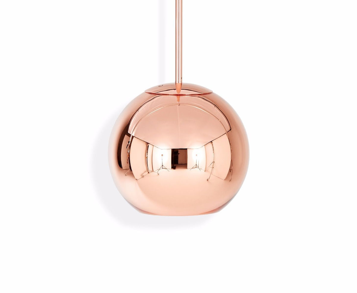 Copper Round Pendant Small / Bronze