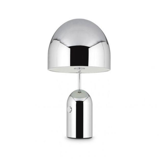 Bell Table Lamp Large Chrome