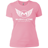 Miles Through Time Logo Womens T-Shirt