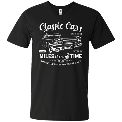 Classic Cars Limited Edition Men's V-Neck T-Shirt