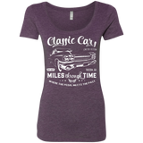 Classic Cars Limited Edition Triblend Scoop T-Shirt