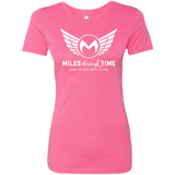 Miles Through Time Logo Womens' Triblend T-Shirt