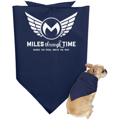 Miles Through Time Logo Doggie Bandana