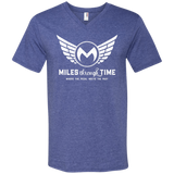 Miles Through Time Logo Men's V-Neck T-Shirt