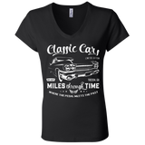 Classic Cars Limited Edition Ladies V-Neck T-Shirt