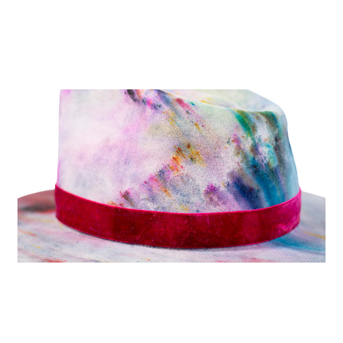 Hand dyed hat (colors vary)