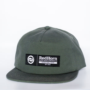 5 Panel Army Green Hat