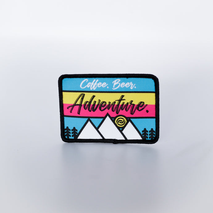 Coffee. Beer. Adventure. Patch