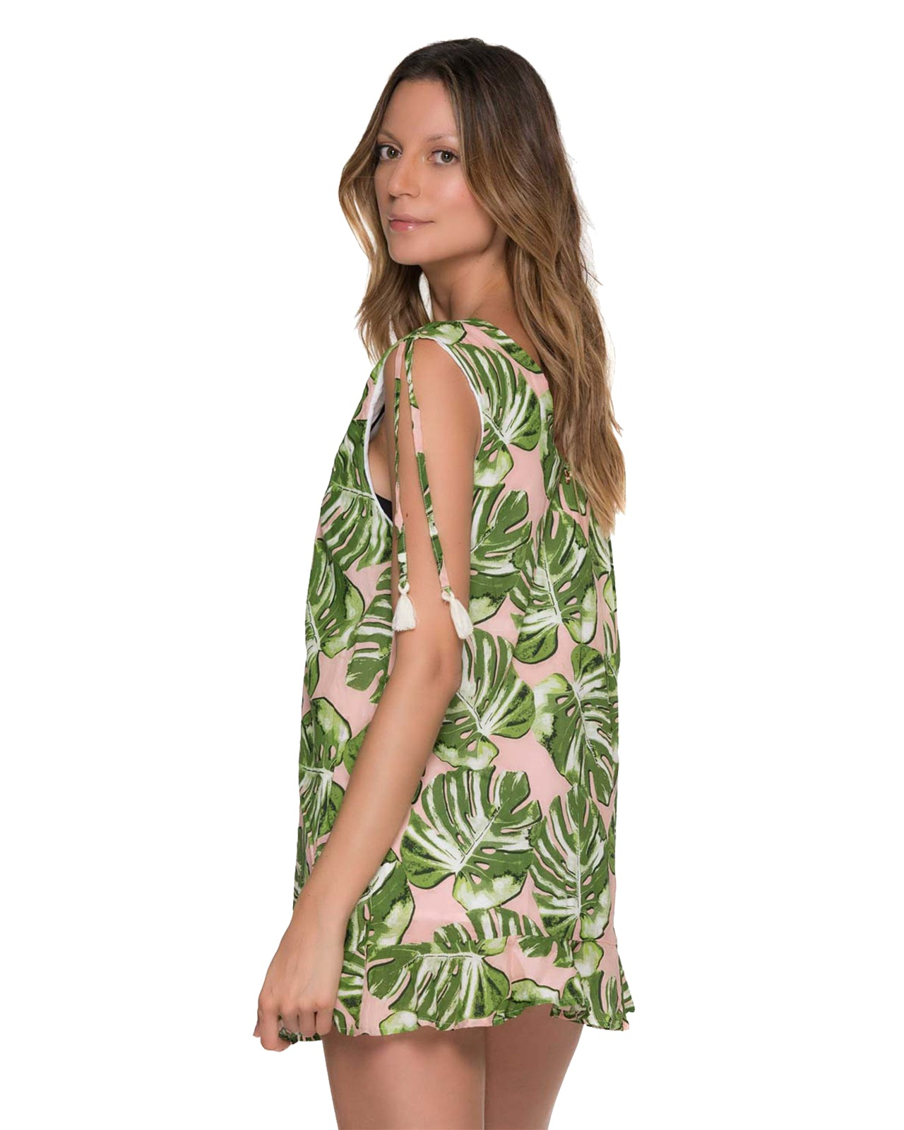 MONSTERA DELIGHT SUMMER DRESS