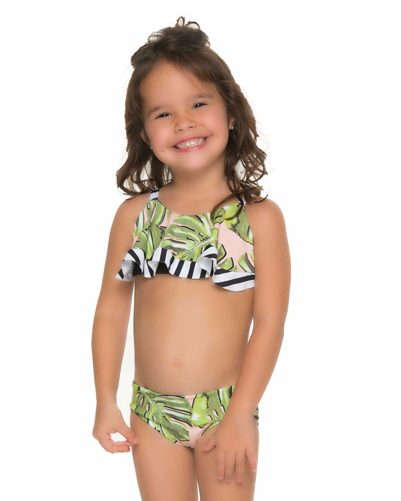 MONSTERA DELIGHT KIDS BIKINI