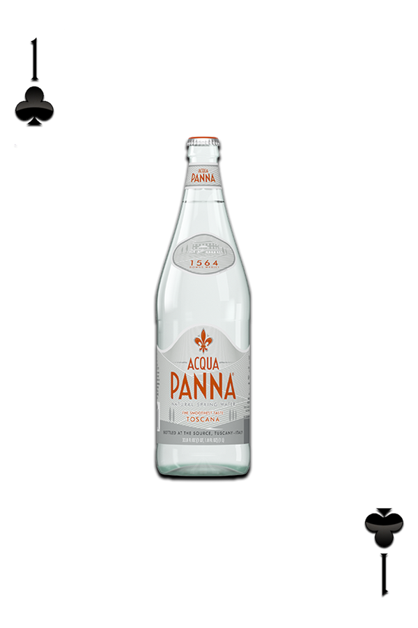 ACQUA PANNA® ITALIAN NATURAL SPRING WATER