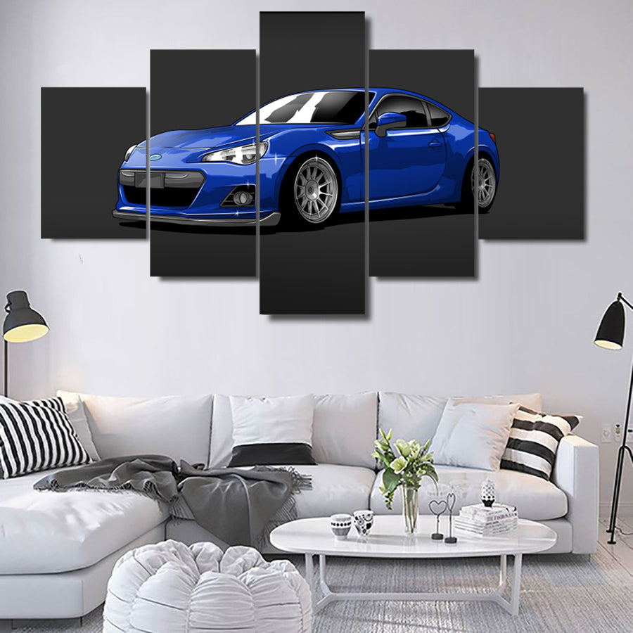 SUBARU BRZ CANVAS ART