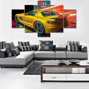 MERCEDES CANVAS ART