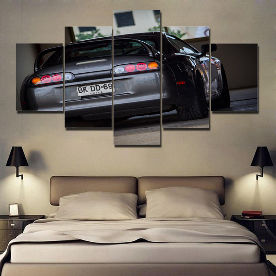 JDM CAR CANVAS ART