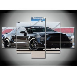 2016 MUSTANG CANVAS ART