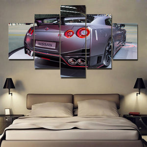 GTR CAR CANVAS ART