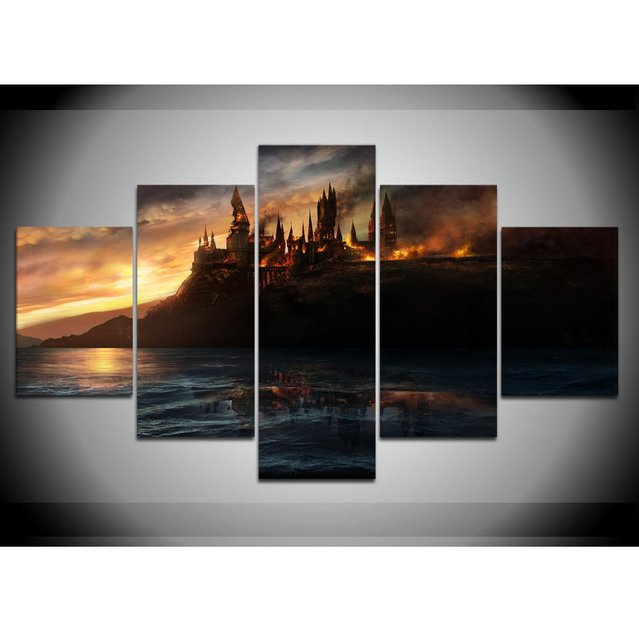 HARRY POTTER CANVAS ART