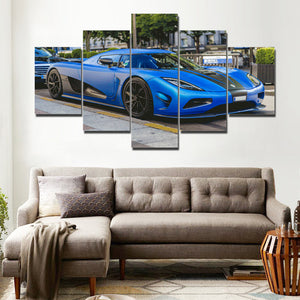 CAR CANVAS ART