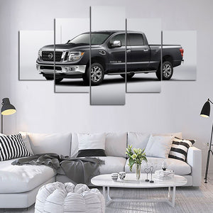 TRUCKS  CANVAS ART
