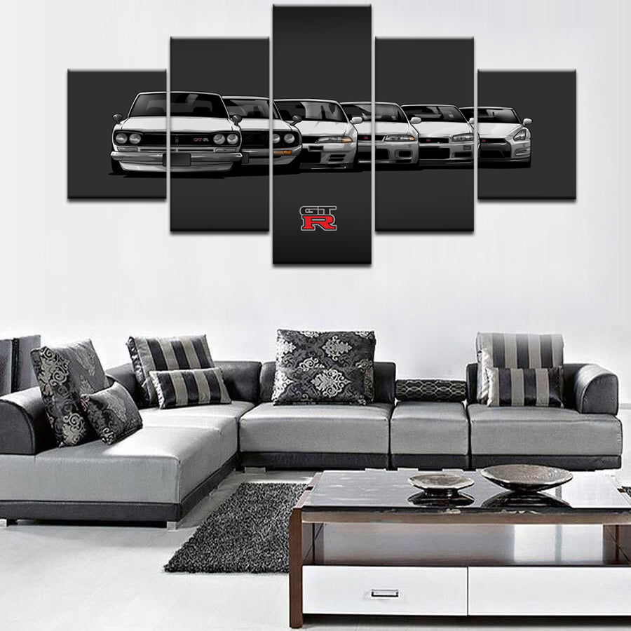 GTR GENERATION CANVAS WALL ART