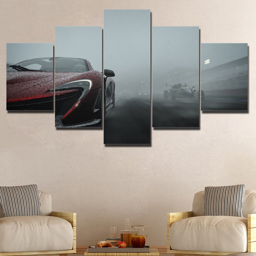 MCLAREN CANVAS ART
