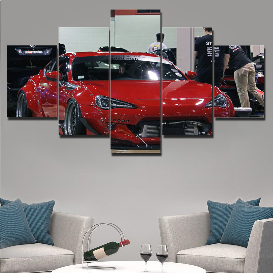 BRZ CANVAS WALL ART