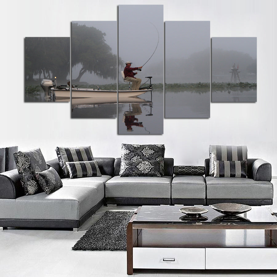 FISHING CANVAS ART