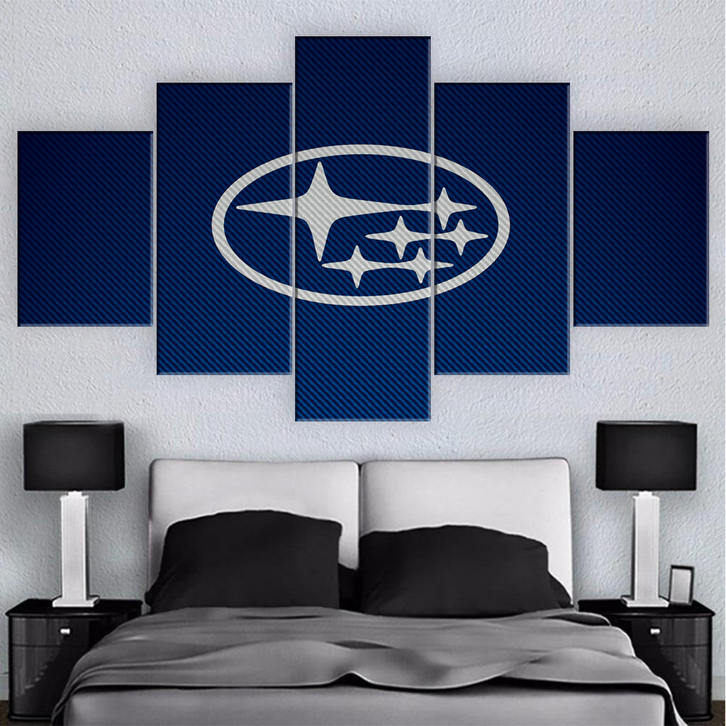 SUBIE CAR WALL ART