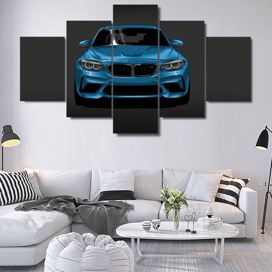 BMW M2 CANVAS ART