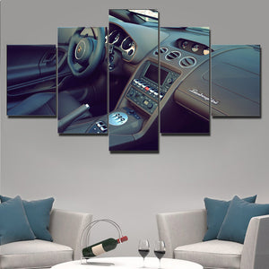 LAMBO CANVAS ART