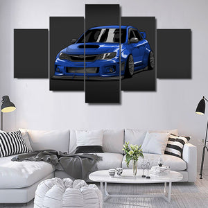 SUBARU WRX CANVAS ART
