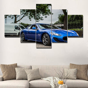 MASERATI CANVAS ART