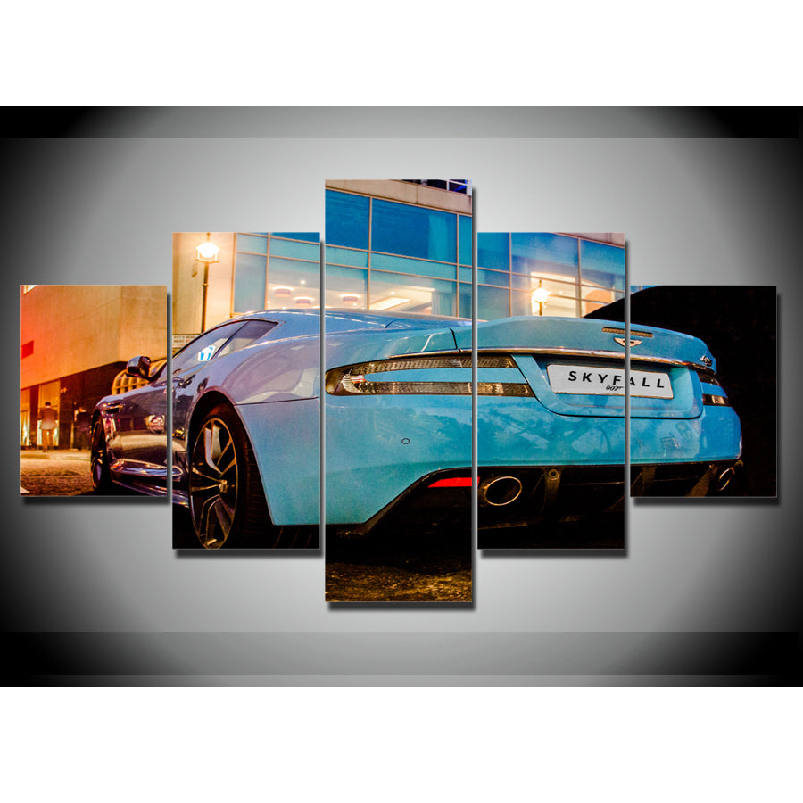 ASTON MARTIN CANVAS ART