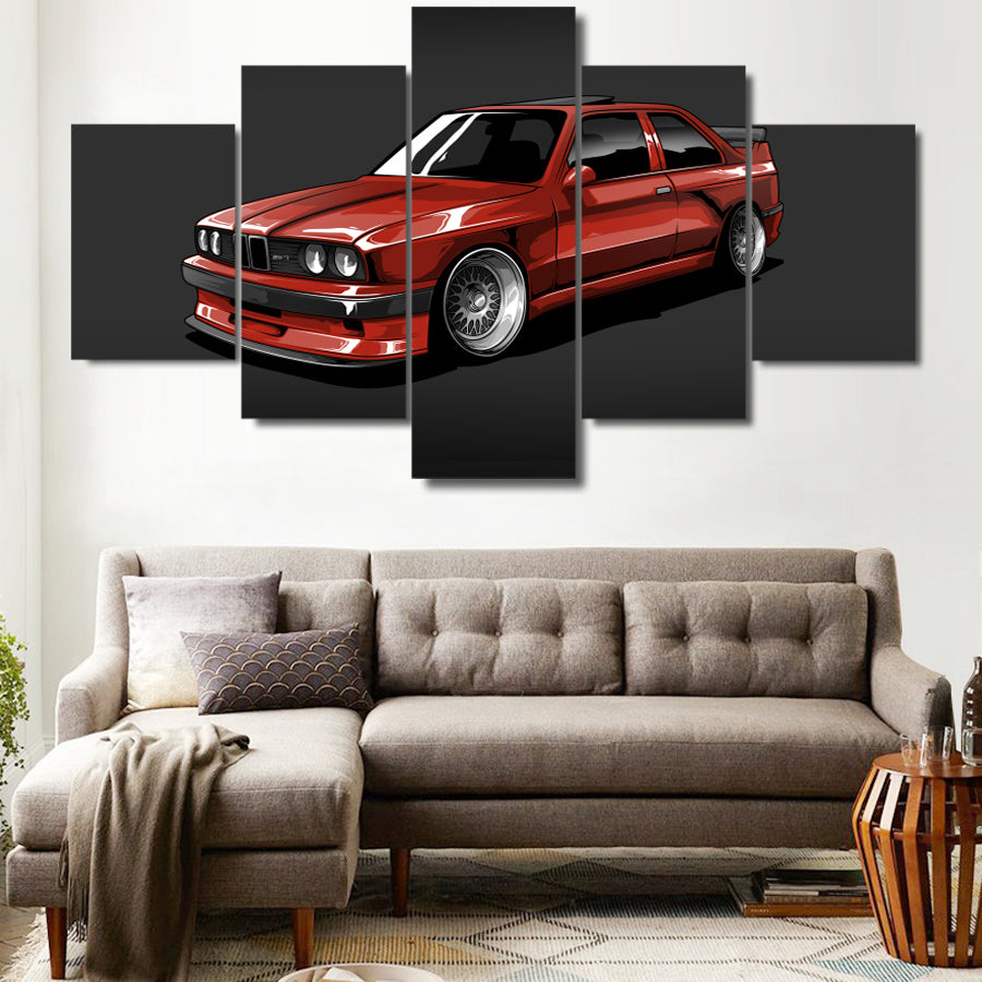 BMW M3 CANVAS ART
