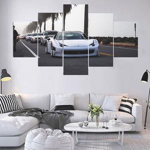 FERRARI CANVAS ART