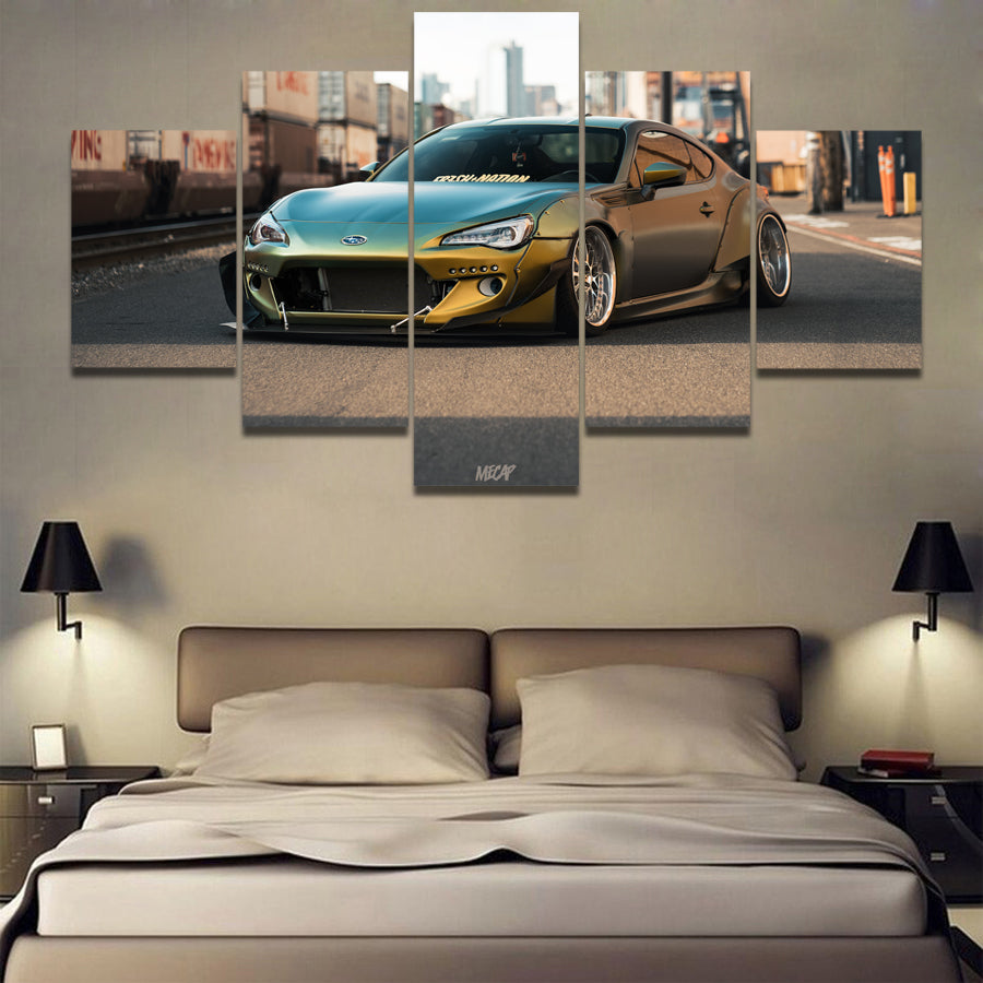 BRZ CAR CANVAS ART