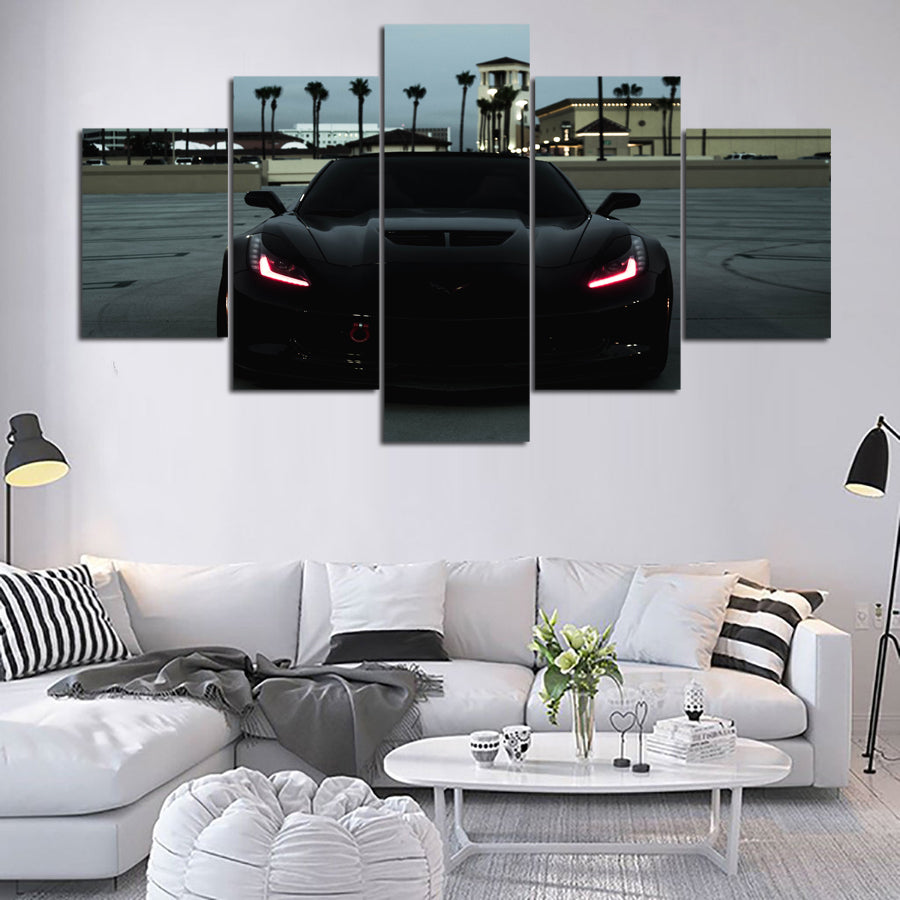 CORVETTE CANVAS ART