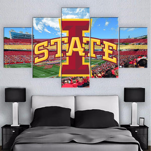 NCAA WALL ART
