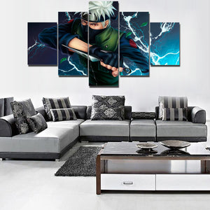 KAKASHI LIGHTNING BLADE CANVAS
