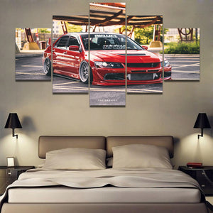 LANCER EVO CANVAS ART