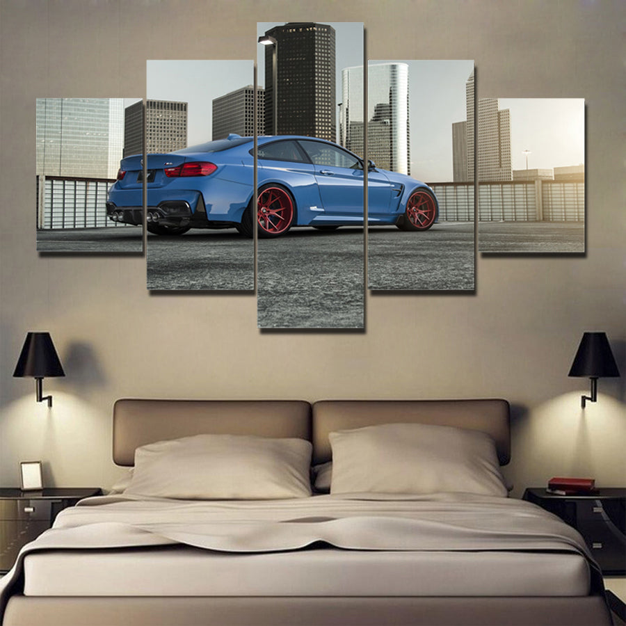 BMW M4 CANVAS ART