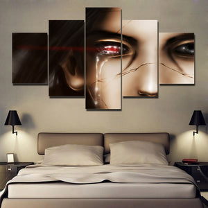 """ITACHI'S TRUTHS"" CANVAS ART"