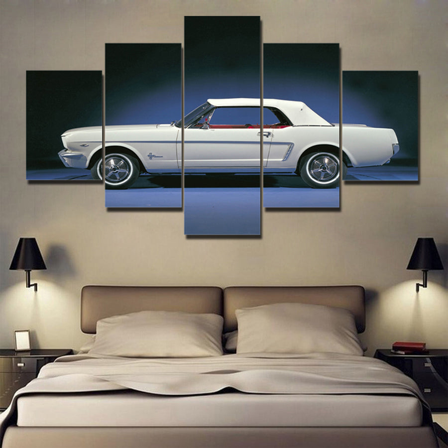 MUSTANG CANVAS ART